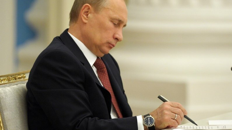 Владимир Путин подписал важнейший закон для беттинга в РФ