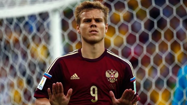 Кокорин: «За удачное выступление сборной России на ЧМ–2018 исполню любое желание болельщиков»
