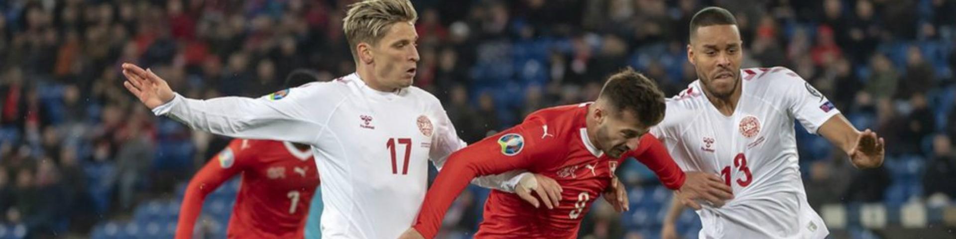 Сборная Дании отыгралась, проигрывая 0:3 на 84-й минуте
