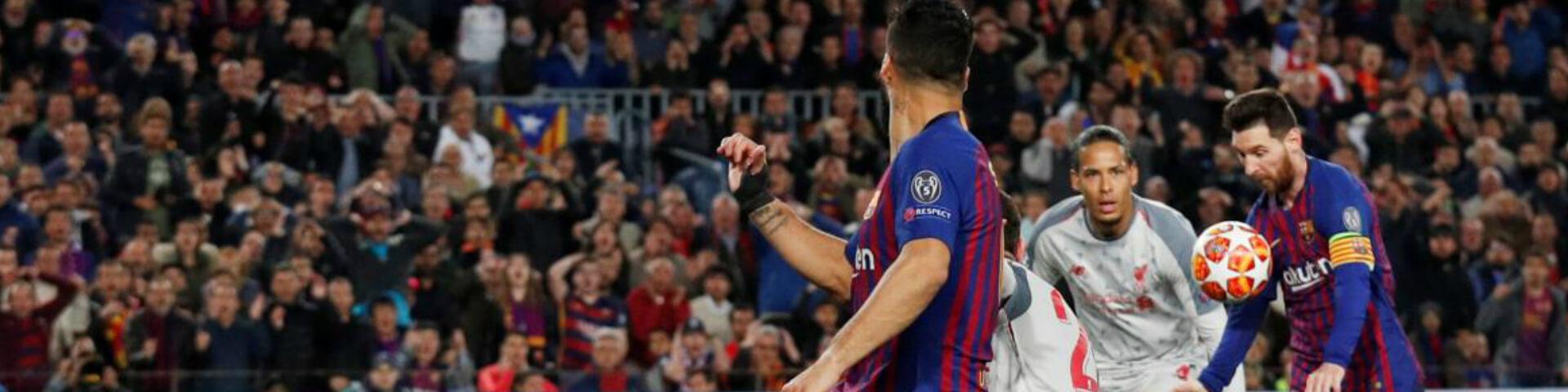 «Барселона» разгромила «Ливерпуль» в полуфинале ЛЧ