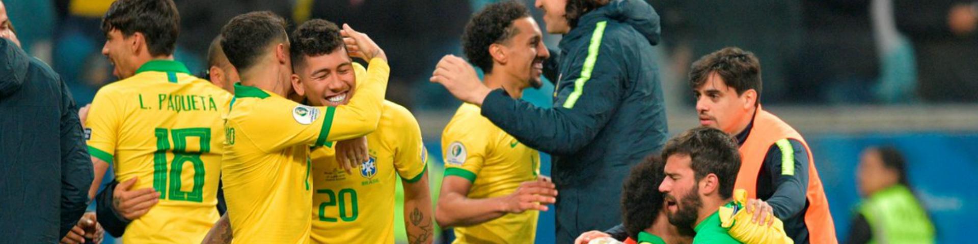 Бразилия вышла в полуфинал Кубка Америки
