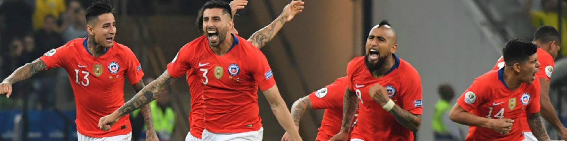 Сборная Чили прошла в полуфинал Кубка Америки