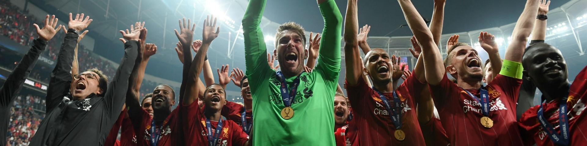 Адриан получил травму во время празднования победы в Суперкубке УЕФА