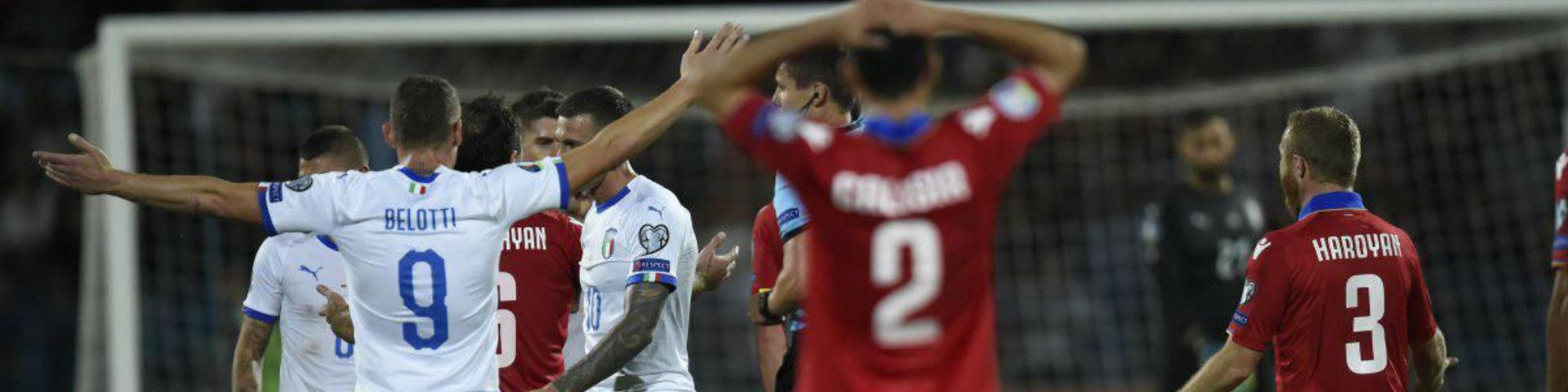 Италия одержала пятую победу подряд в квалификации Евро-2020