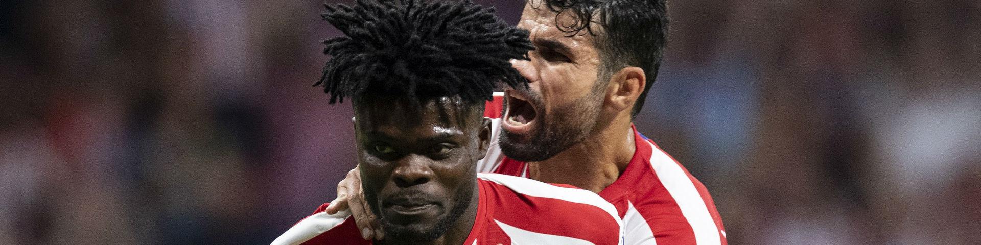 «Атлетико» в добавленное время вырвал победу у «Эйбара»