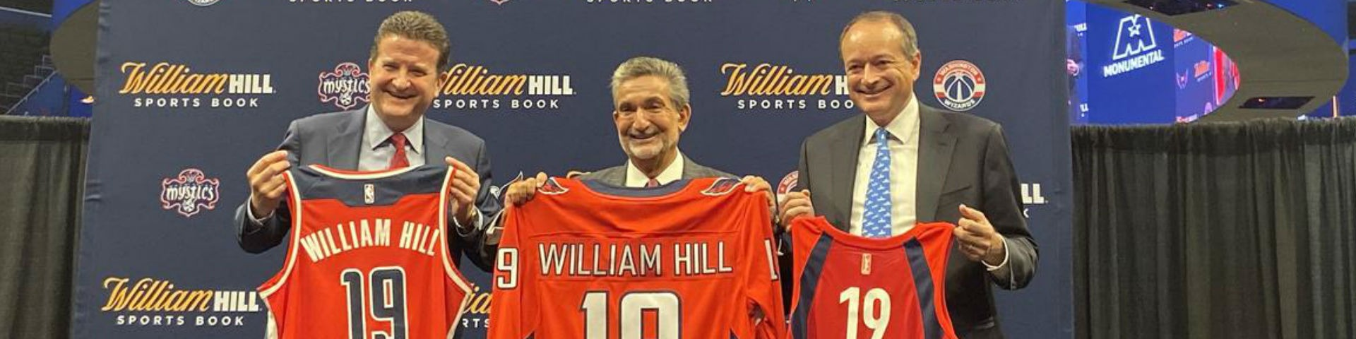 БК William Hill стала партнёром Monumental Sports & Entertainment