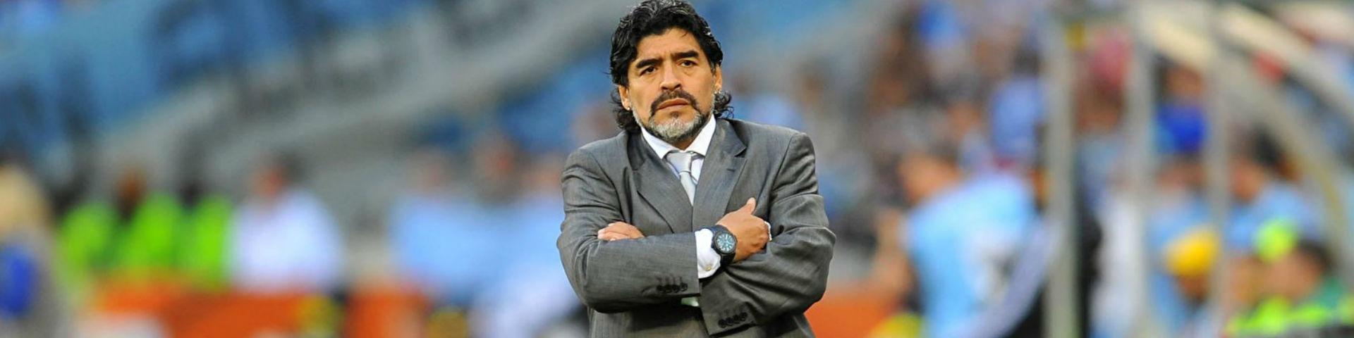 Марадона может уйти из «Химнасии» из-за президента клуба