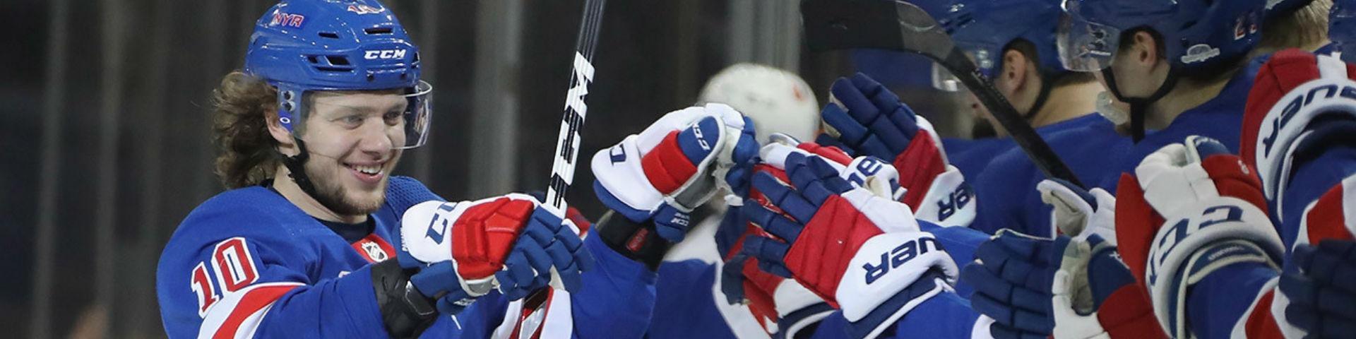 Наши в НХЛ: пять очков Панарина, дубль Овечкина, шайба Барбашева